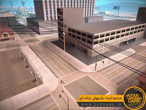 دانلود مد حذف مردم و ماشین ها [شهر ارواح] برای بازی GTA San Andreas