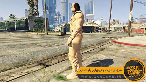 دانلود اسکین کاراکتر مرد شنی برای بازی GTA V