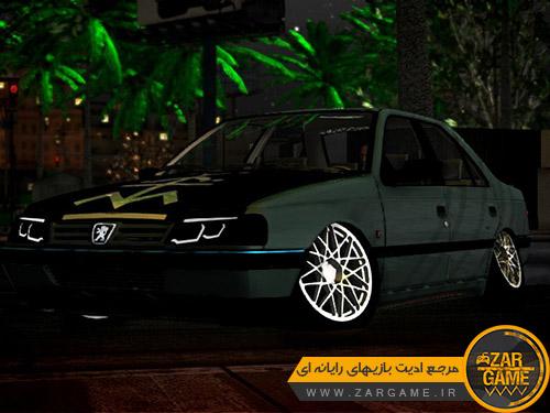 دانلود ماشین پژو 405 اسپورت توسط NIMALAW برای بازی GTA San Andreas