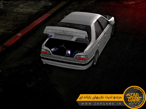 دانلود ماشین پژو پارس اسپورت توسط NIMALAW برای بازی GTA San Andreas
