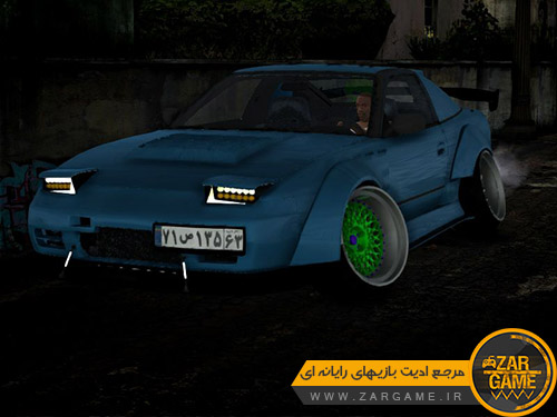 دانلود خودروی NISSAN 240SX Rocket bunny برای بازی GTA San Andreas