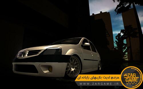 دانلود خودروی رنو لوگان برای بازی GTA San Andreas