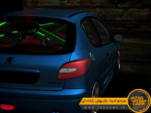 دانلود خودروی پژو 206 RC برای بازی GTA San Andreas