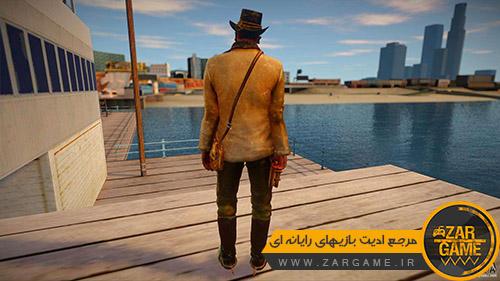 دانلود اسکین کارل جانسون به سبک بازی Red Dead Redemption 2 برای بازی GTA San Andreas