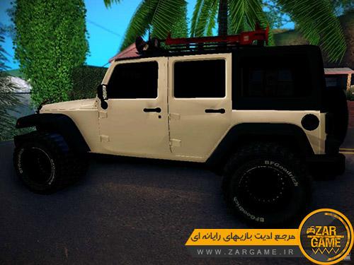 دانلود ماشین Jeep Wrangler 4x4 برای بازی GTA San Andreas