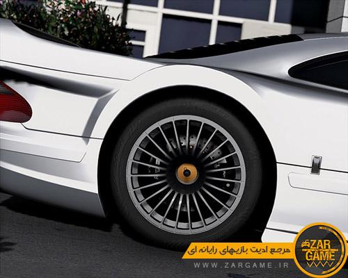 دانلود خودروی Mercedes-Benz CLK GTR 1998 برای بازی GTA V