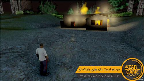 دانلود مود ترسناک روح خانه ی سوخته برای بازی (GTA 5 (San Andreas