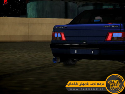 دانلود ماشین پژو 405 GLX 2000 برای بازی GTA San Andreas