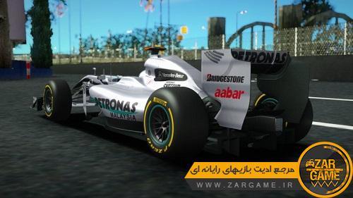 دانلود خودروی MERCEDES-BENZ MGP W01 برای بازی GTA5 (San Andreas)