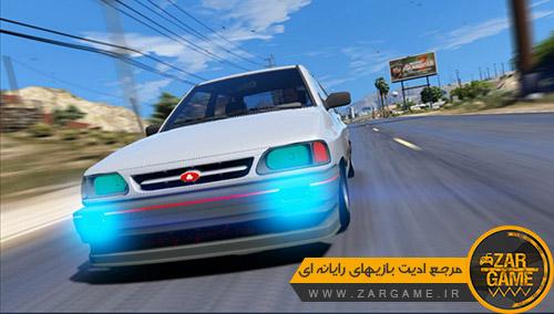 دانلود خودروی پراید صبا کره ای برای بازی GTA V