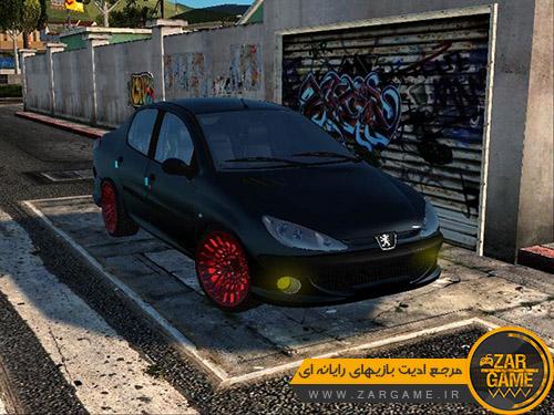 دانلود خودروی پژو 206 SD برای بازی GTA 5 (San Andreas)