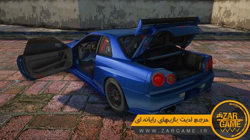 دانلود خودروی Nissan Skyline GTR 2002 برای بازی GTA 5 (San Andreas)