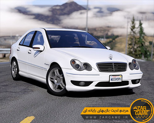 دانلود خودروی Mercedes-Benz C32 AMG 2004 برای بازی GTA V