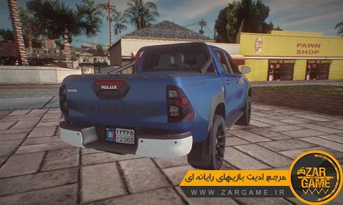 دانلود خودروی 2021 Toyota Hilux برای بازی GTA 5 (San Andreas)