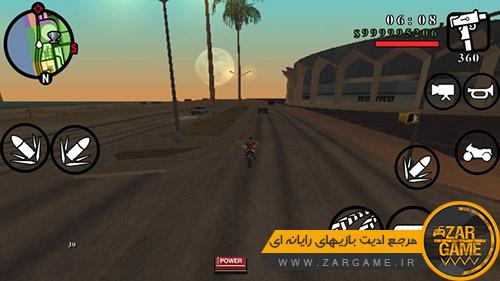 دانلود مود رانندگی آسان برای بازی GTA SA اندروید