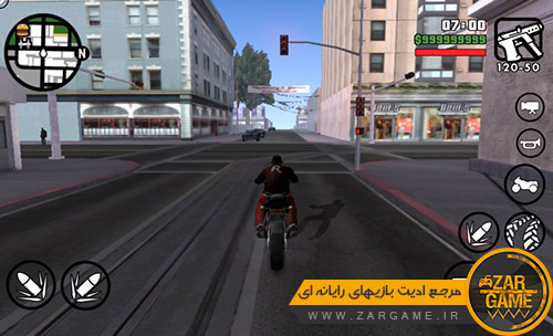 دانلود مود توقف زمان برای بازی GTA SA اندروید