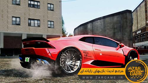 دانلود ماشین Lamborghini Huracan LB برای بازی GTA IV