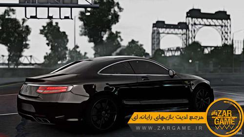 دانلود خودروی Mercedes-Benz S63 Coupe AMG 2015 برای بازی GTA IV