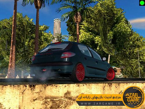 دانلود خودروی پژو 206 هاچبک برای بازی GTA San Andreas