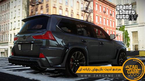 دانلود ماشین Lexus LX570 WALD برای بازی GTA IV