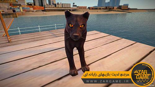 دانلود اسکین پلنگ سیاه برای بازی GTA San Andreas
