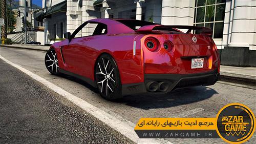دانلود ماشین 2017 Nissan GT-R R35 برای بازی GTA V