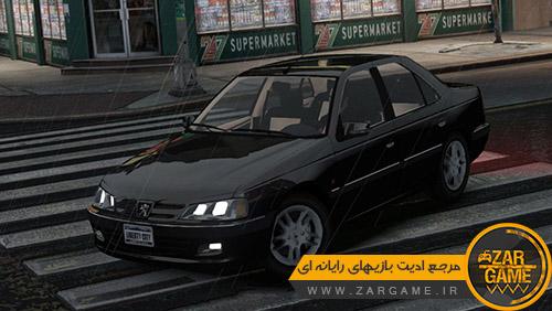 دانلود ماشین پژو پارس LX برای بازی GTA IV