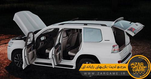 دانلود ماشین Toyota Land Cruiser LC200 2021 برای بازی GTA San Andreas